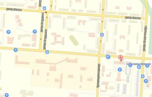 Карта Городская поликлиника